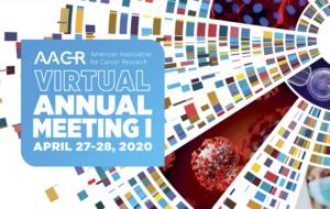 illustratie (kleur) AACR, virtual annual meeting